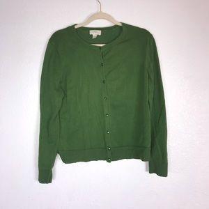 Loft Size XL Green Cardigan